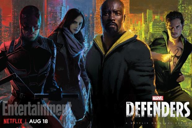 Marvel's The Defenders team